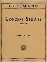 International Music Company Cossman, Bernhard: Concert Studies, Op. 10 (cello)