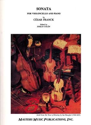 LudwigMasters Franck, Cesar: Sonata in A major (cello & piano)