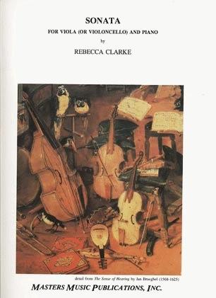 LudwigMasters Clarke, Rebecca: Sonata (Viola & piano) or (Cello & Piano)