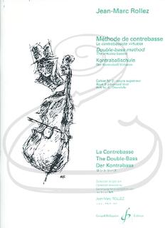 Carl Fischer Rollez: Double-bass Method - The Virtuoso Bassist, Vol.3, Advanced Level (bass) Gérard Billaudot