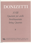 Donizetti, Gaetano: String Quartet No. 9 in d minor