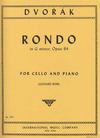 International Music Company Dvorak (Rose): Rondo in G minor, Op.94 (cello & piano)