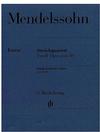 HAL LEONARD Mendelssohn, F.: String Quartet Op.80, urtext (2 violins, viola, and cello)