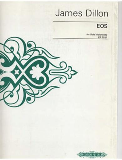 Dillon, James: Eos (cello solo)