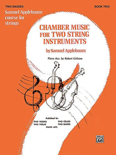 Alfred Music Applebaum, S.: Chamber Music for Two String Instruments V.2 (2 basses)