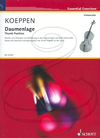 HAL LEONARD Koeppen: Thumb Position (cello) Schott