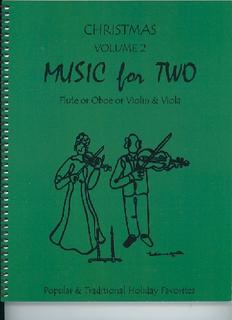 Last Resort Music Publishing Kelley, Daniel: Music for Two Christmas Vol.2, Popular & Traditional Holiday Favorites (violin & viola)