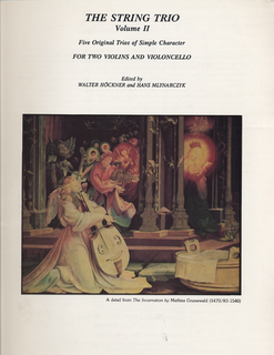 LudwigMasters Hockner, W.: The String Trio Vol.2 Five Original Trios of Simple Character  (2 violins, cello)