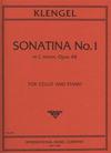 International Music Company Klengel: Sonatina No.1 in C minor, Op.48 (cello & piano)