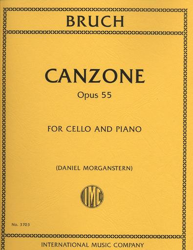 International Music Company Bruch, Max (Morganstern): Canzone Op. 55 (cello & piano)