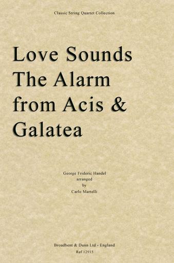 Carl Fischer Handel, G.F.: Love Sound the Alarm (string quartet)