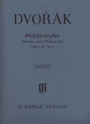 HAL LEONARD Dvorak, A. (Pospisil, ed.): Waldesruhe [Silent Woods], Op.68, urtext (cello & piano)