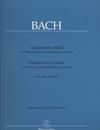 Barenreiter Bach, J.S.: Concerto in A minor for Cello, Strings & Basso Continuo, after BWV 593 (cello & piano)