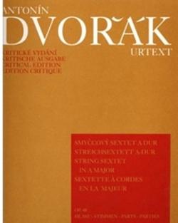 Barenreiter Dvorak, Antonin: Sextet Op.48 (2 violins, 2 violas, 2 cellos)