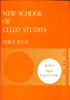 Stainer & Bell Ltd. Such: New School of Cello Studies, Vol.3 (cello)