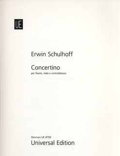 Carl Fischer Schulhoff, E.: Concertino (Flute, Viola, and Double Bass)