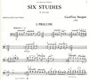 Burgon, Geoffrey: Six Studies for Solo Cello