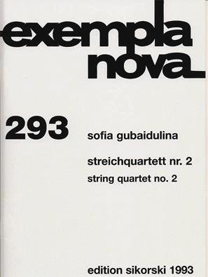 HAL LEONARD Gubaidalina, Sofia: String Quartet No. 2 score and parts