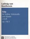 Beethoven, L. van: Piano Trio Op. 1 No. 3 (piano, violin, cello)