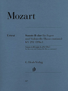 HAL LEONARD Mozart, W.A. (Kostujak, arr./Wiese, ed.): Duet, K.292 (bassoon and cello)