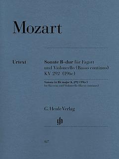 HAL LEONARD Mozart, W.A. (Kostujak, arr./Wiese, ed.): Duet, K.292 (bassoon and cello)