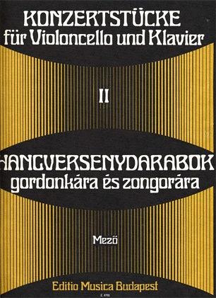 HAL LEONARD Mezo, Laszlo: Concert Pieces Vol.2 (cello & piano)