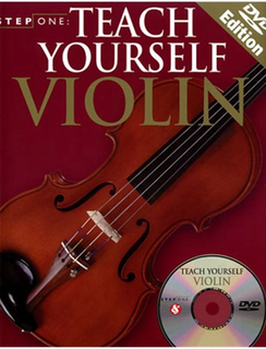 Step One-Teach Yourself Violin (violin & DVD)
