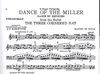 DeFalla, Manuel: Dance of Miller from 3-Cornered Hat (cello & piano)