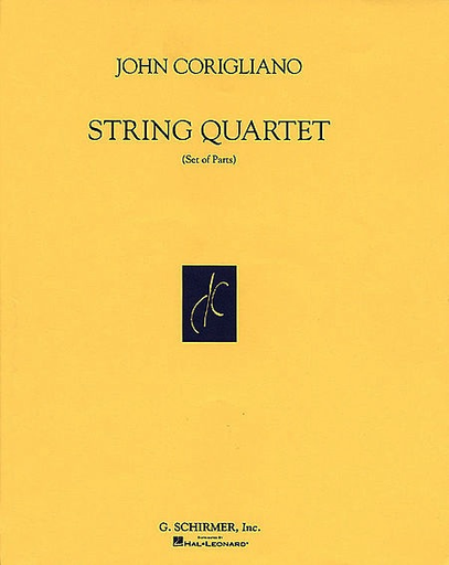 HAL LEONARD Corigliano, J.: String Quartet (string quartet)