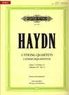 Haydn, F.J.: 6 String Quartets Op.71 and 74, Hoboken III 69-74 (score and parts)