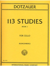 International Music Company Dotzauer (Klingenberg): 113 Studies Vol.1 (cello) IMC