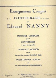 Nanny, Edouard: Complete Method for the Double Bass Vol.1
