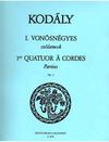 HAL LEONARD Kodaly, Zoltan: String Quartet Op.2 No.1 (parts)