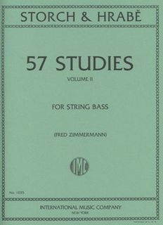 International Music Company Storch-Hrabe (Zimmerman): 57 Studies Vol.2 (bass)