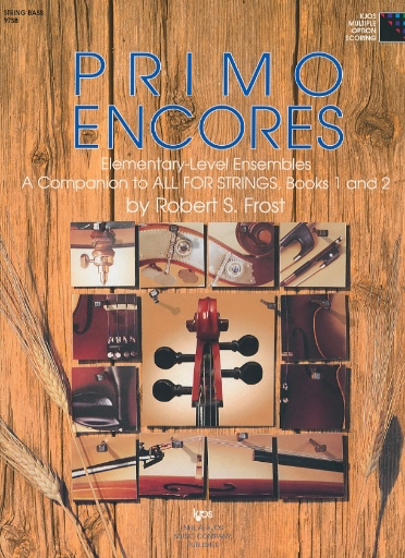 Frost, Robert: Primo Encores (3 basses)