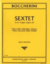 International Music Company Boccherini, Luigi: Sextet in E-Flat major Op. 42 (horn & string quintet)