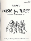 Last Resort Music Publishing Kelley, Daniel: Music for Three Vol.2, Favorites from the Baroque, Classical & Romantic Periods (cello)