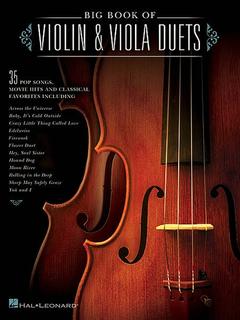 HAL LEONARD Big Book of Violin & Viola Duets