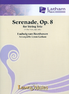 LudwigMasters Beethoven, L.: Serenade, Op 8 for String Trio (violin, viola, cello, score and parts)