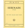 International Music Company Piatti, Alfredo: Serenade in D (2 cellos & piano)