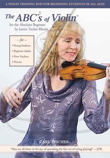 Carl Fischer DVD - Rhoda: The ABC's of Violin for the Absolute Beginner (violin)(DVD)