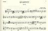 Wollenweber Lidel, Andreas: Quartet Op.7 and 4 (flute, violin, viola, cello) parts