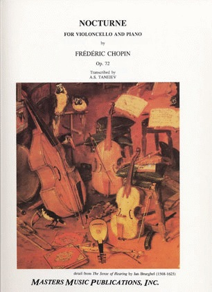 LudwigMasters Chopin, Frederic: Nocturne Op.72 (Cello & Piano)