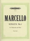 Marcello, B. (Schulz): Sonata No.2 (Cello & Piano)