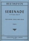 International Music Company Beethoven, L. van: Serenade in D major, Op.8 (violin, viola, cello)
