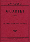 International Music Company Casadesus, Robert: Quartet Op.30 (violin, viola, cello, piano)