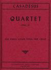 International Music Company Casadesus, Robert: Quartet Op.30 (violin, viola, cello, piano)
