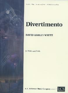 ECS Publishing White, David Ashley: Divertimento (violin & viola) ECS Publishing