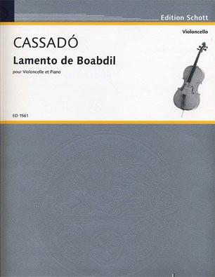 HAL LEONARD Cassado, Gaspar: Lamento de Baobdil (cello & piano)