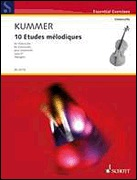 HAL LEONARD Kummer, F.A. (Menger, ed.): 10 Etudes Melodiques, Op. 57 (cello)